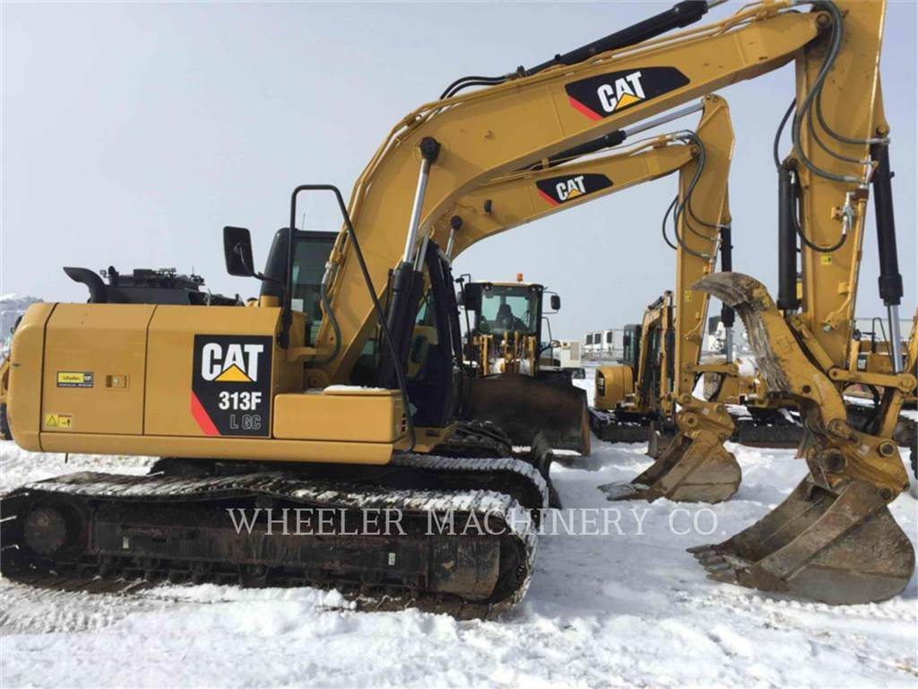 Caterpillar 313F GC TH, Crawler Excavators, Construction