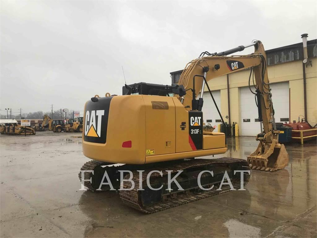 Caterpillar 313F HT, Crawler Excavators, Construction
