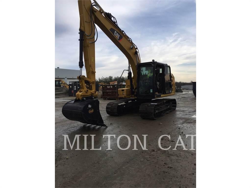 Caterpillar 313F L, Excavadoras de cadenas, Construcción
