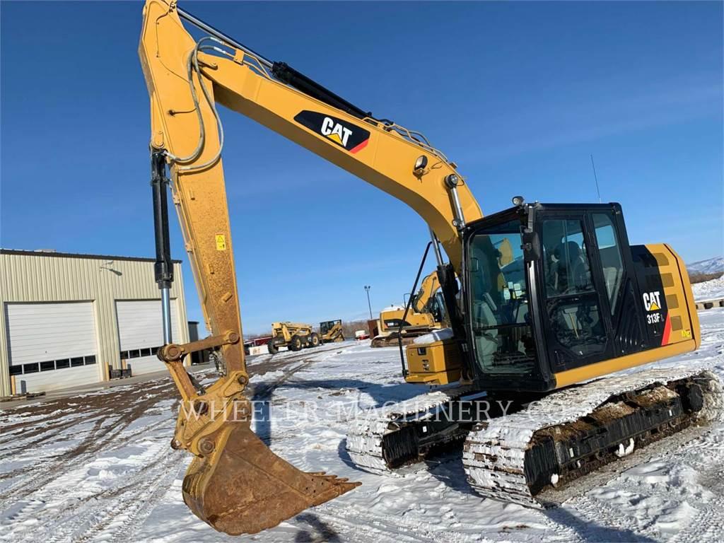 Caterpillar 313F L, Crawler Excavators, Construction