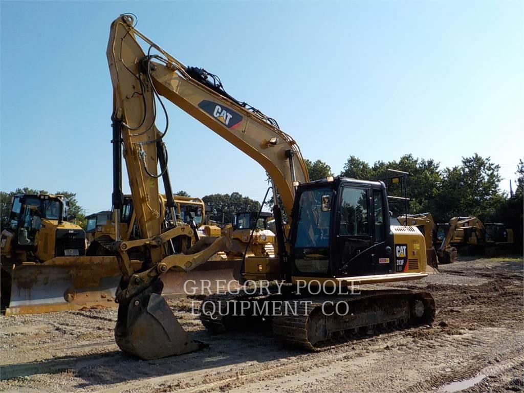 Caterpillar 313F L GC, Crawler Excavators, Construction