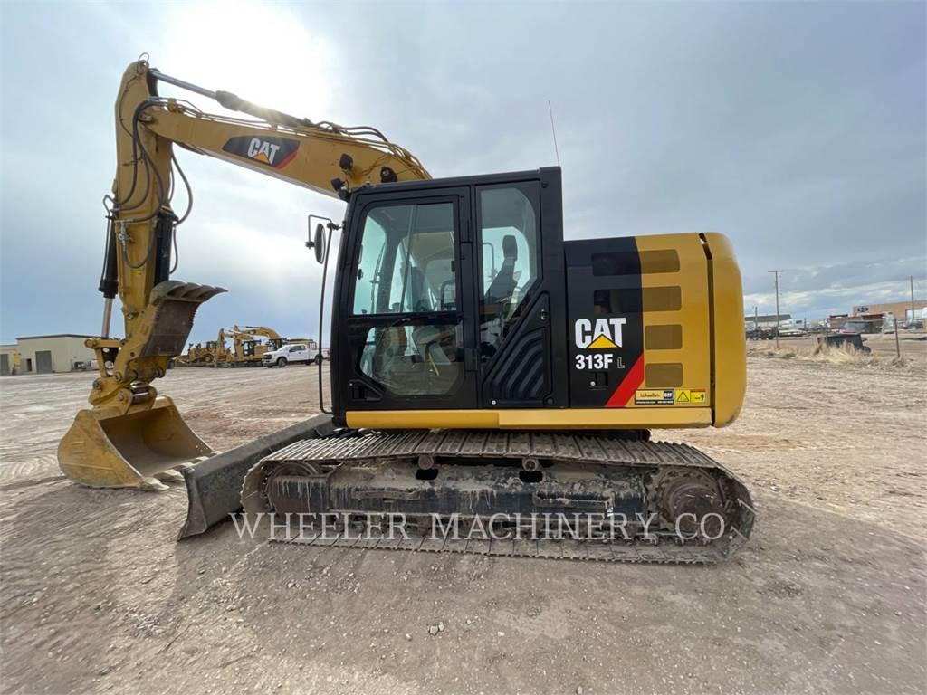 Caterpillar 313F L THB, Crawler Excavators, Construction