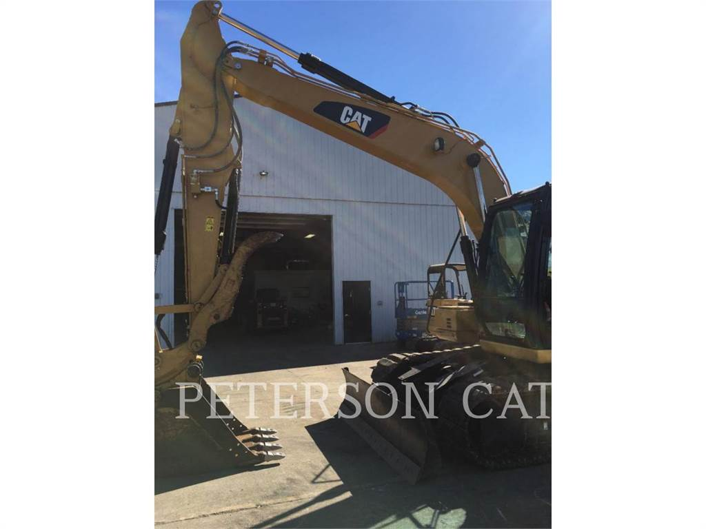 Caterpillar 313F RBBR, Crawler Excavators, Construction