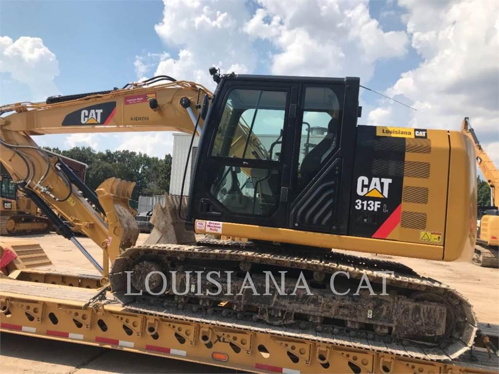 Caterpillar 313FL、大型油圧ショベル12t以上(パワーショベル・ユンボ)、建設