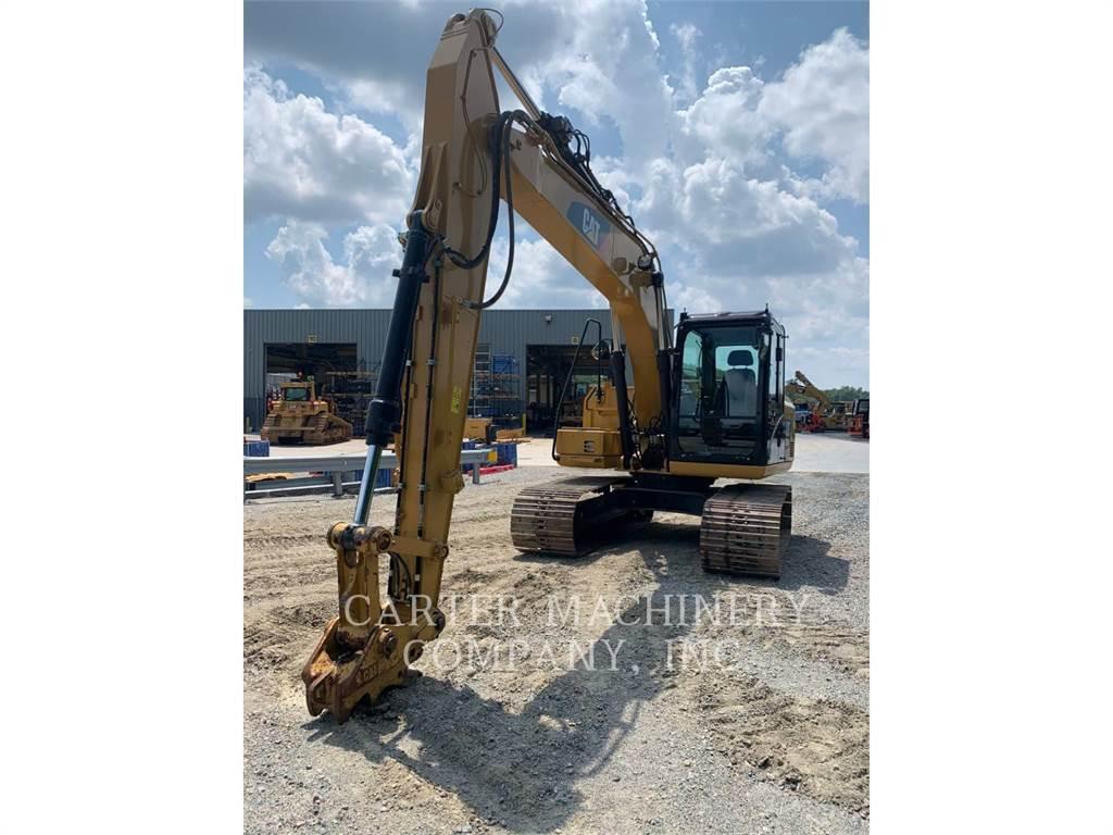 Caterpillar 313FL, Excavatoare pe senile, Constructii
