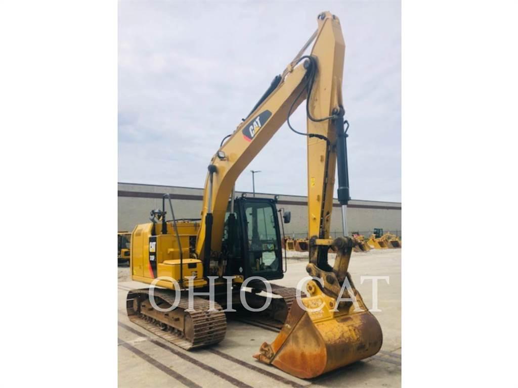 Caterpillar 313FL, Crawler Excavators, Construction