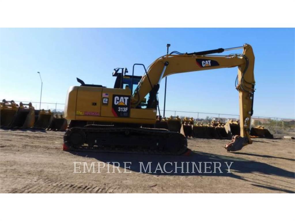 Caterpillar 313FL GC P, Excavatoare pe senile, Constructii