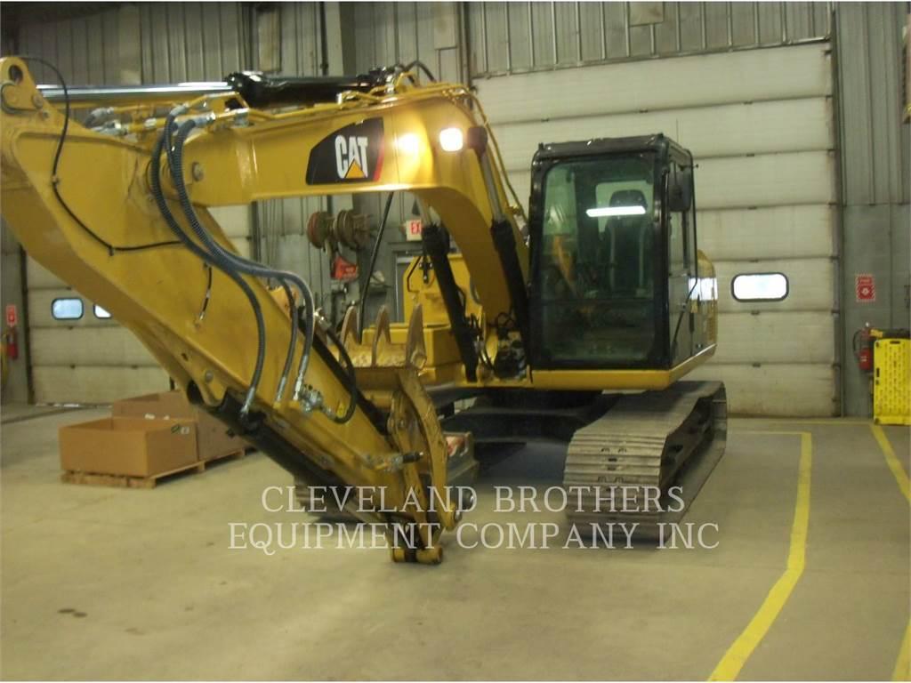 Caterpillar 313FL GC T, Crawler Excavators, Construction