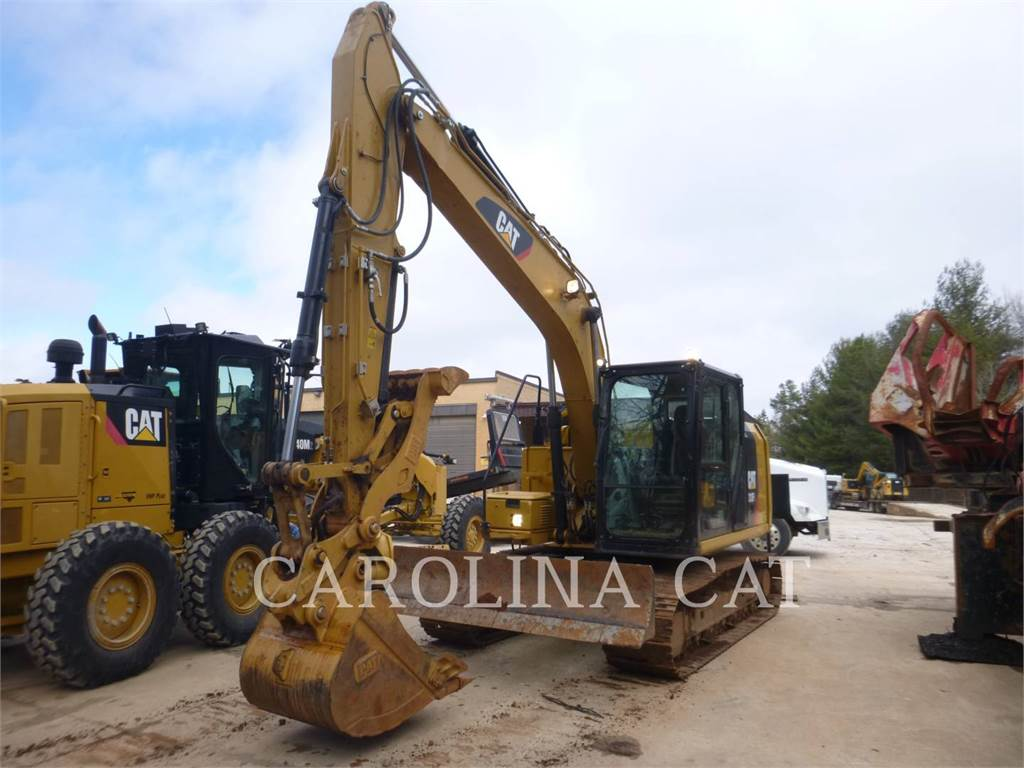 Caterpillar 313FL THBL, Crawler Excavators, Construction