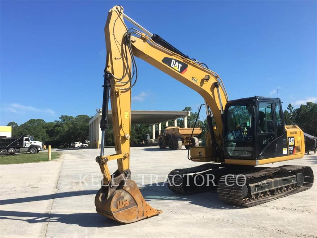 Caterpillar 313FLGC、クローラー式油圧ショベル(パワーショベル・ユンボ)、建設