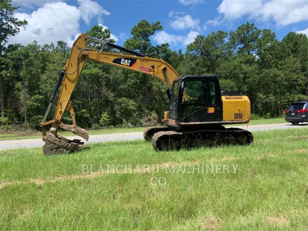 Caterpillar 313FLGC, Escavatori cingolati, Attrezzature Da Costruzione