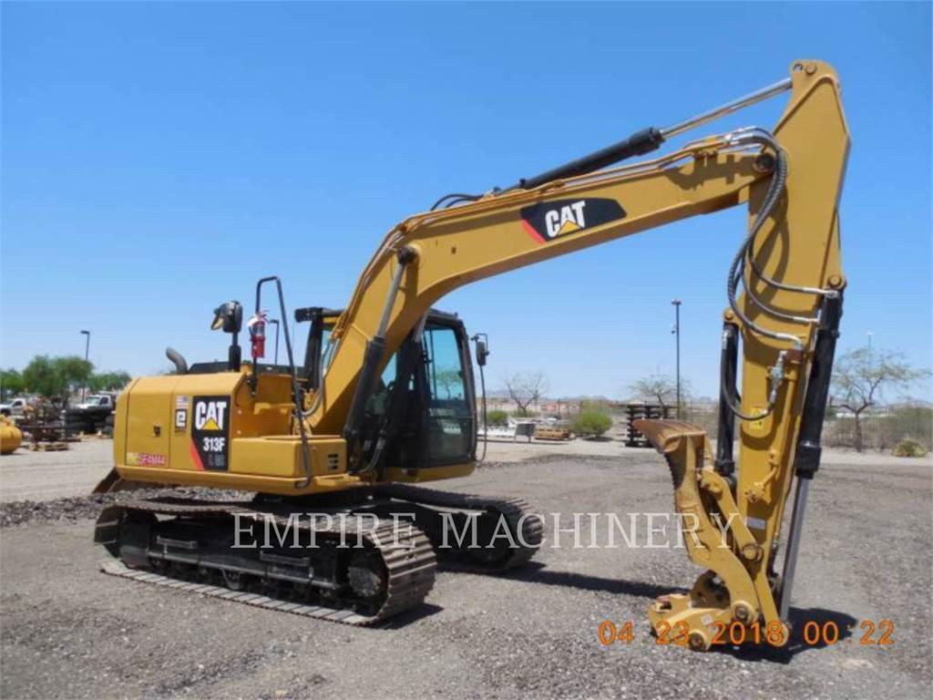 Caterpillar 313FLGC, Excavadoras de cadenas, Construcción