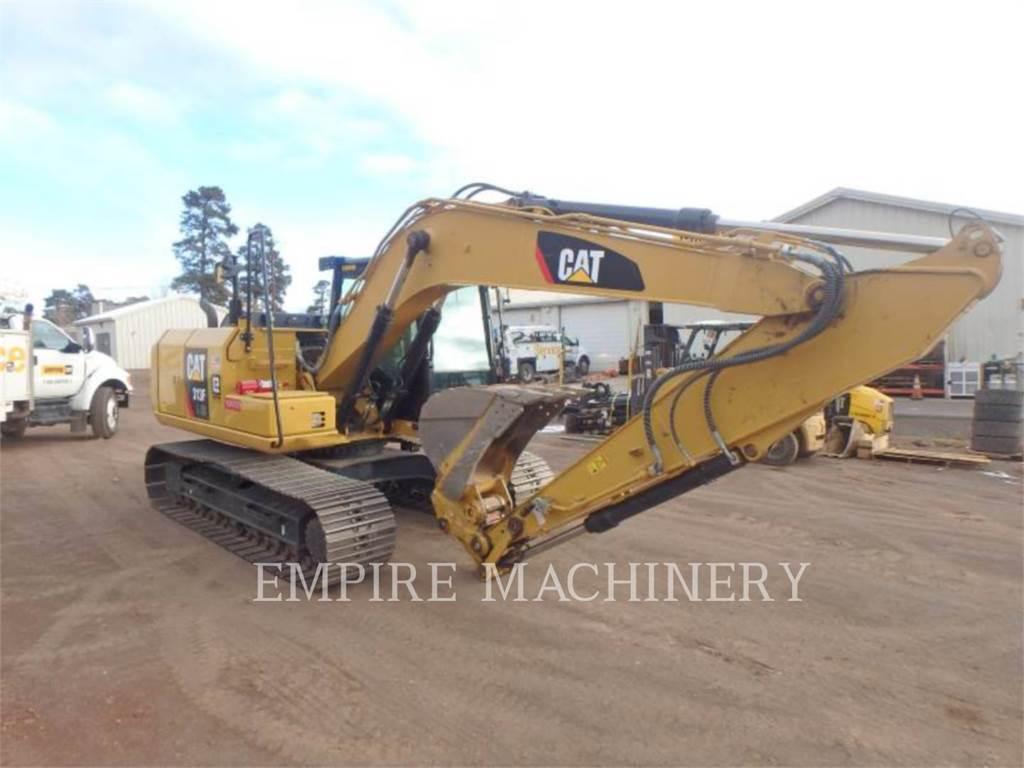 Caterpillar 313FLGC, Pelle sur chenilles, Équipement De Construction