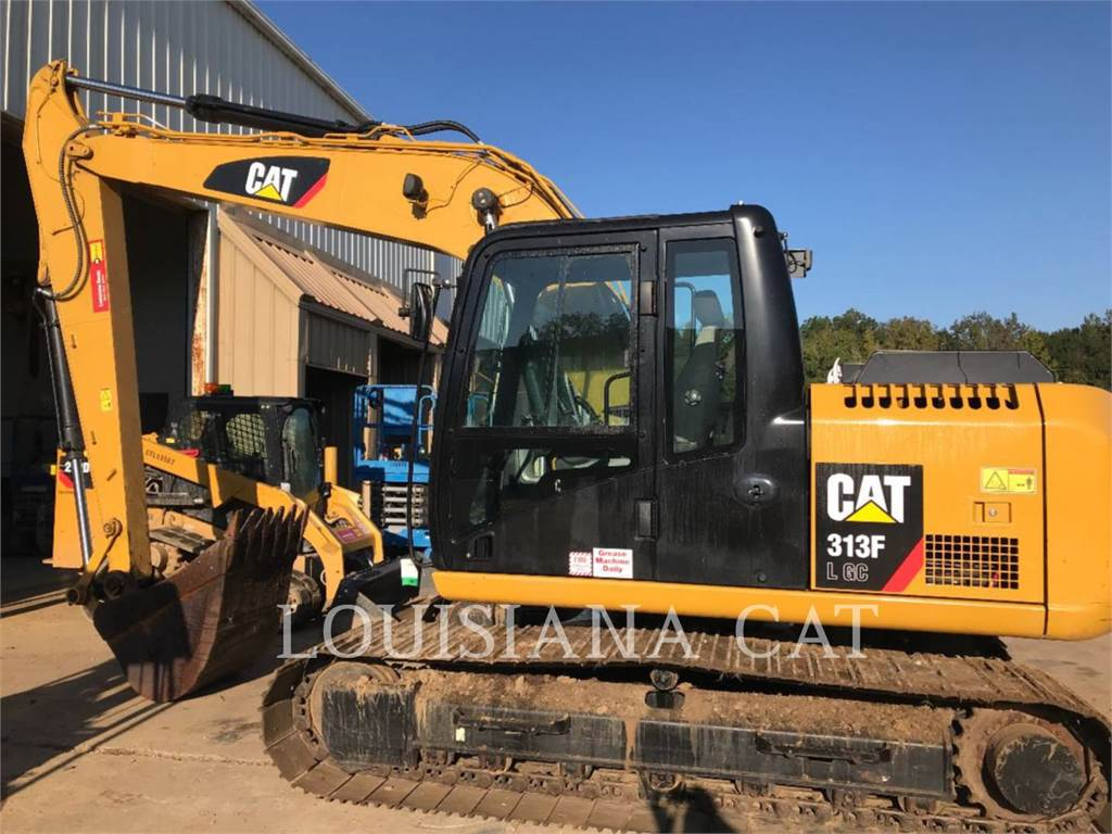 Caterpillar 313FLGC, Crawler Excavators, Construction