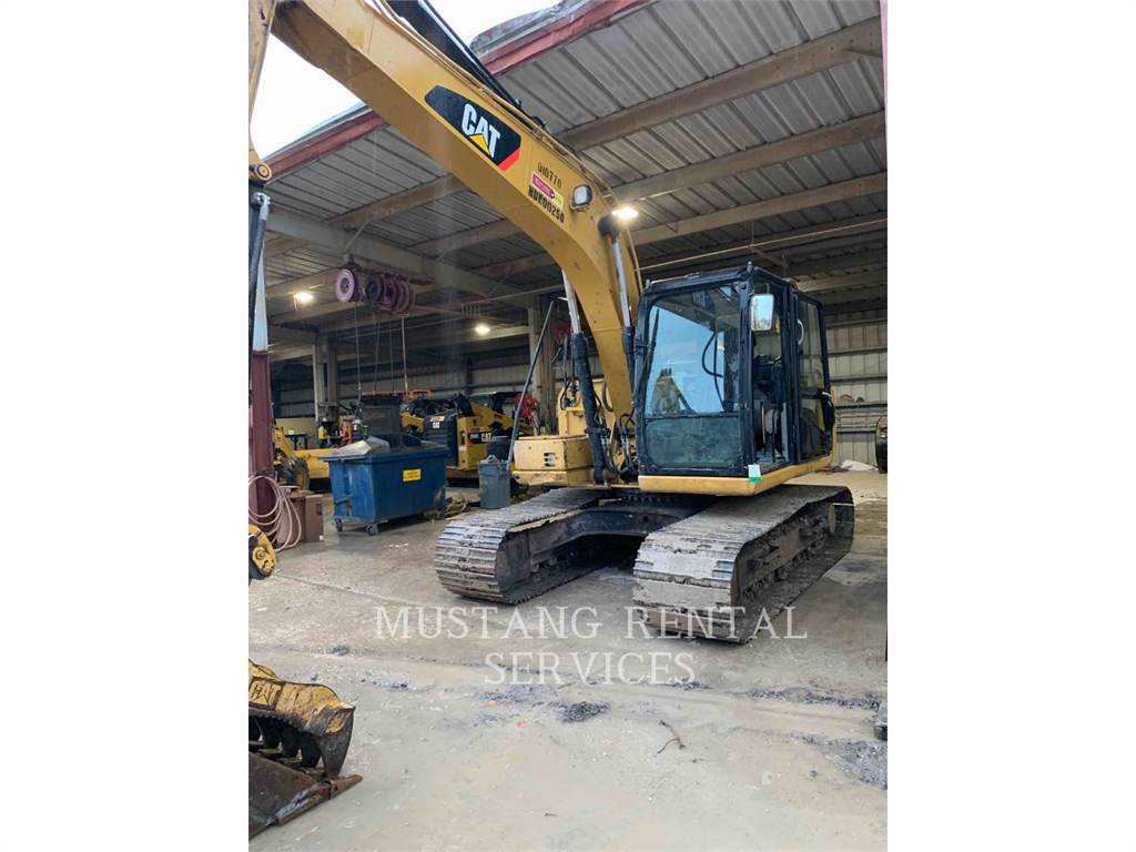 Caterpillar 313HYDTH, Crawler Excavators, Construction