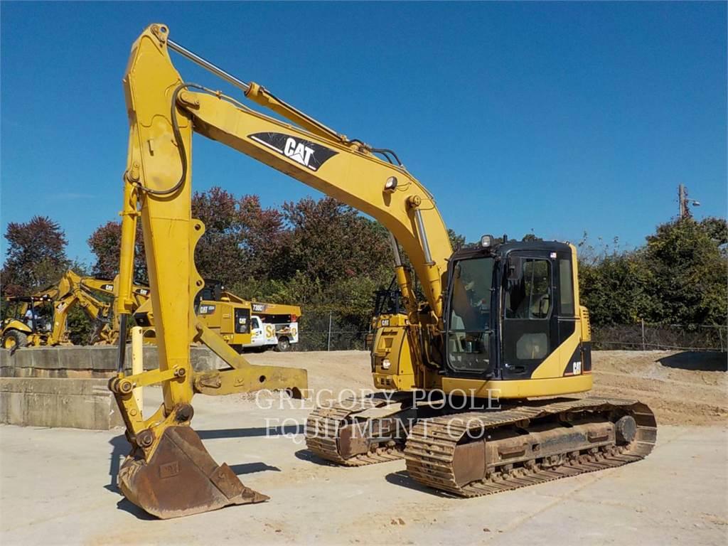 Caterpillar 314C LCR, Excavadoras de cadenas, Construcción