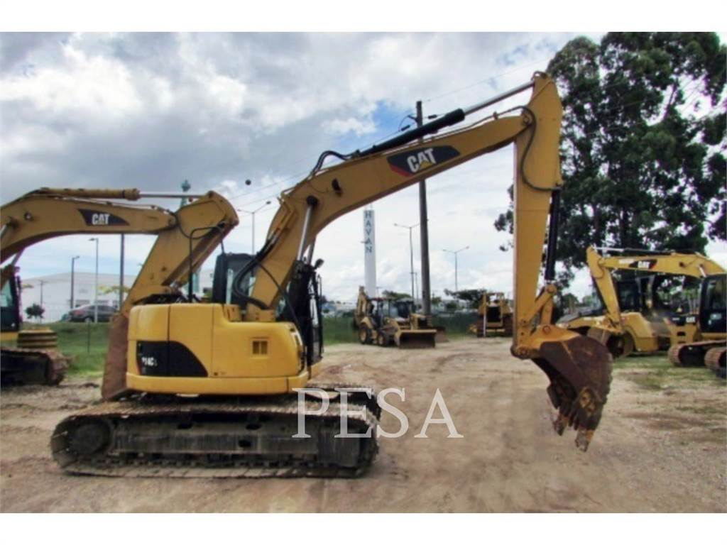 Caterpillar 314CCR, Crawler Excavators, Construction