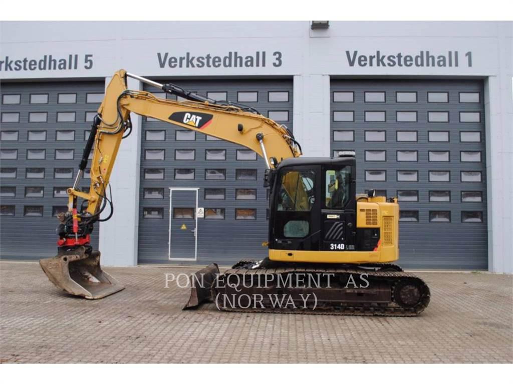 Caterpillar 314D、クローラー式油圧ショベル(パワーショベル・ユンボ)、建設