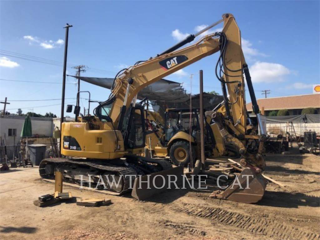 Caterpillar 314D LCR, Crawler Excavators, Construction