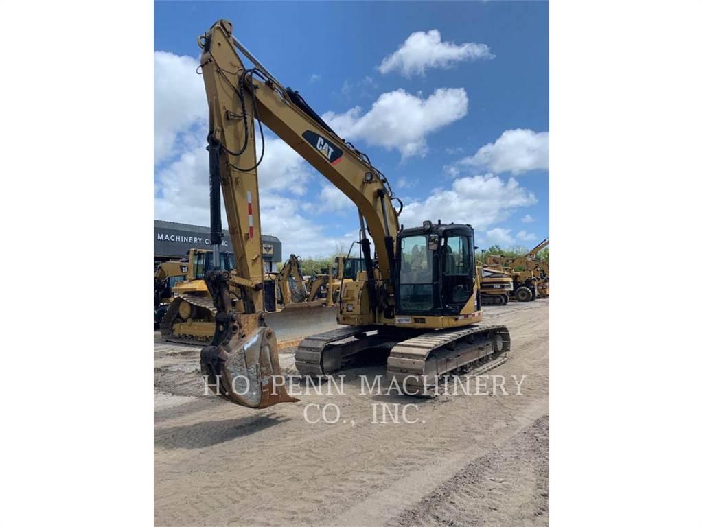 Caterpillar 314DLCR, Excavatoare pe senile, Constructii