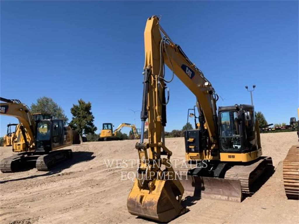 Caterpillar 314E, Excavadoras de cadenas, Construcción