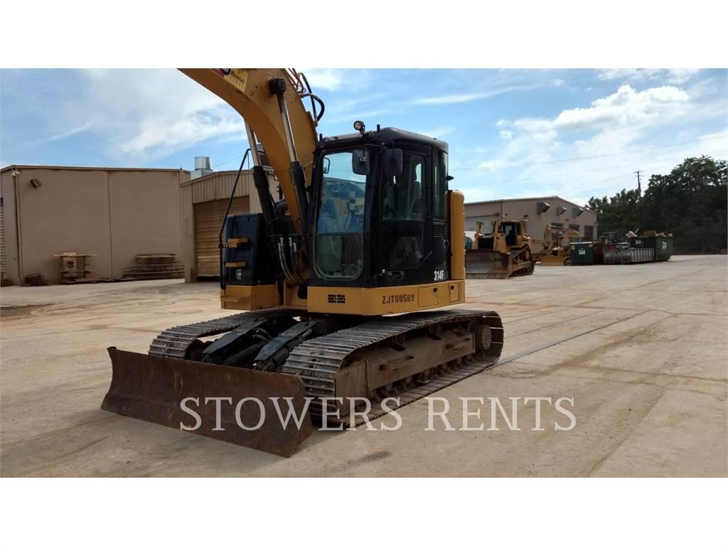 Caterpillar 314E CR, Excavadoras de cadenas, Construcción