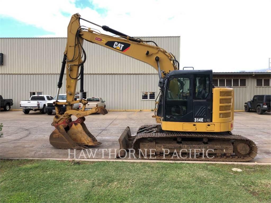 Caterpillar 314E CR TH, Crawler Excavators, Construction