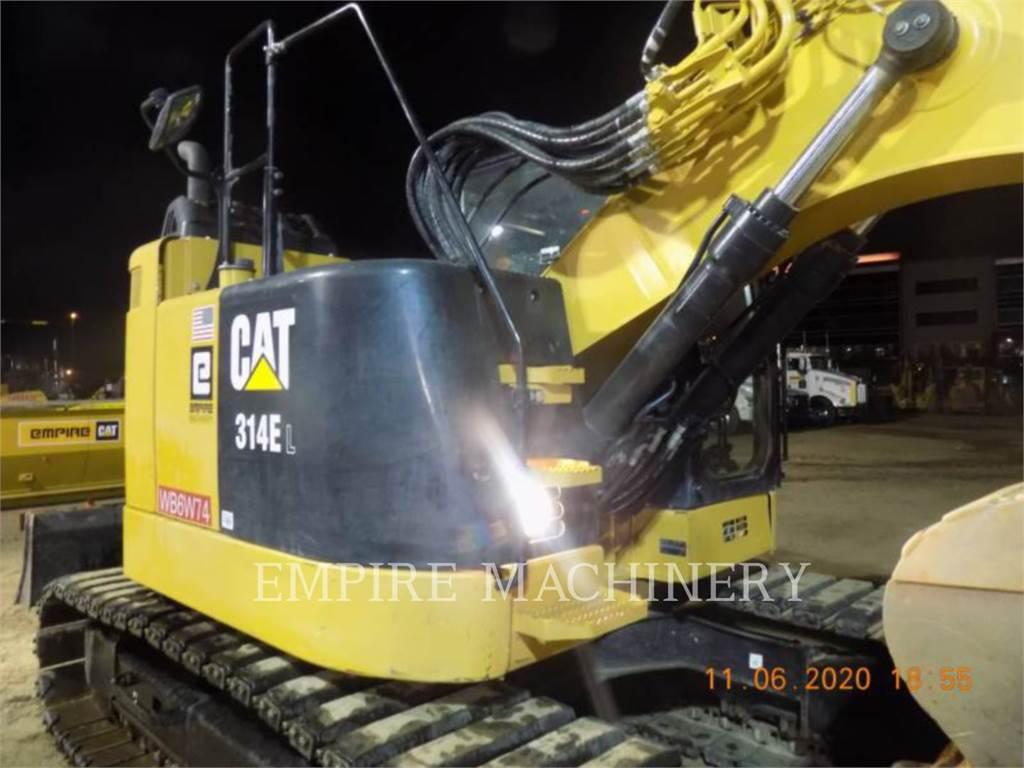Caterpillar 314E LCR P, Excavatoare pe senile, Constructii