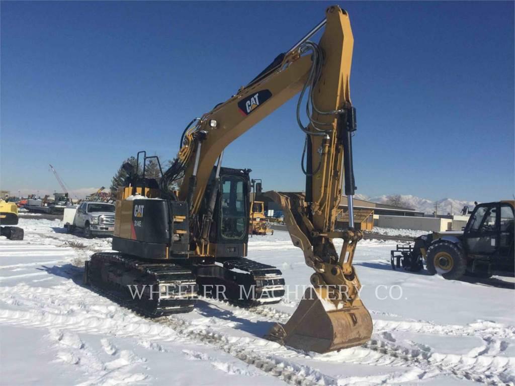 Caterpillar 314E LTHCG、クローラー式油圧ショベル(パワーショベル・ユンボ)、建設