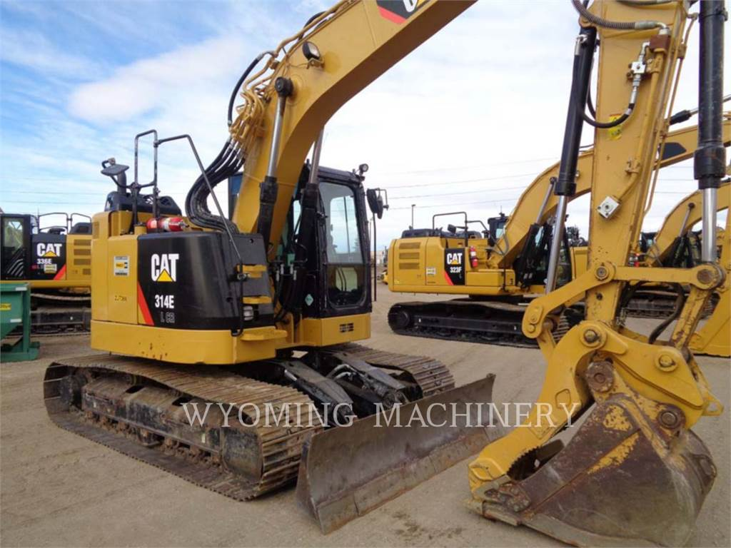 Caterpillar 314ELCR, Crawler Excavators, Construction