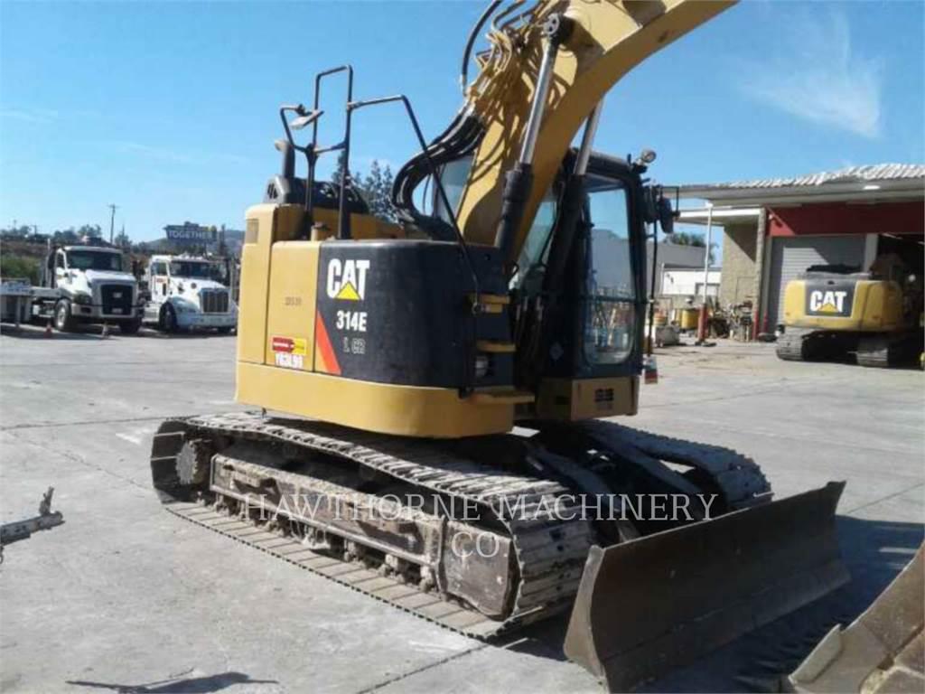 Caterpillar 314ELCR, Excavadoras de cadenas, Construcción