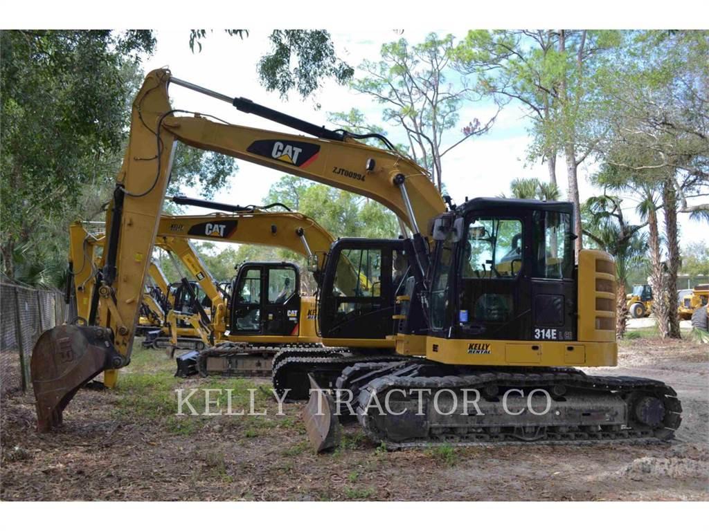 Caterpillar 314ELCR, Pelle sur chenilles, Équipement De Construction