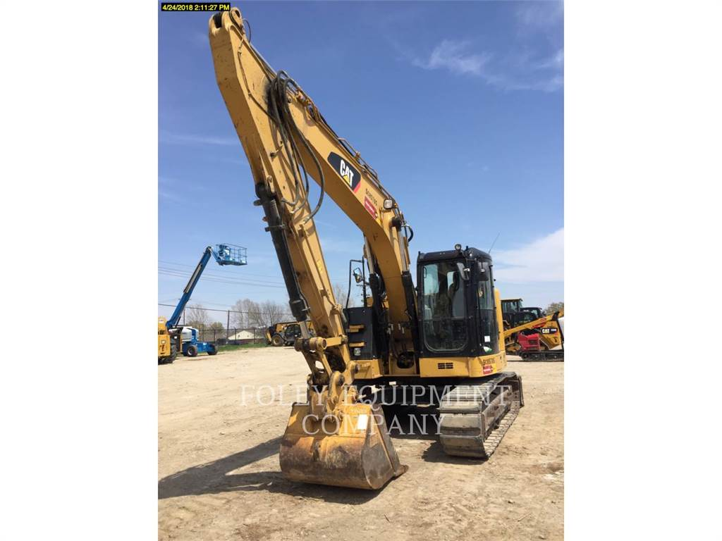 Caterpillar 314ELCR9, Crawler Excavators, Construction
