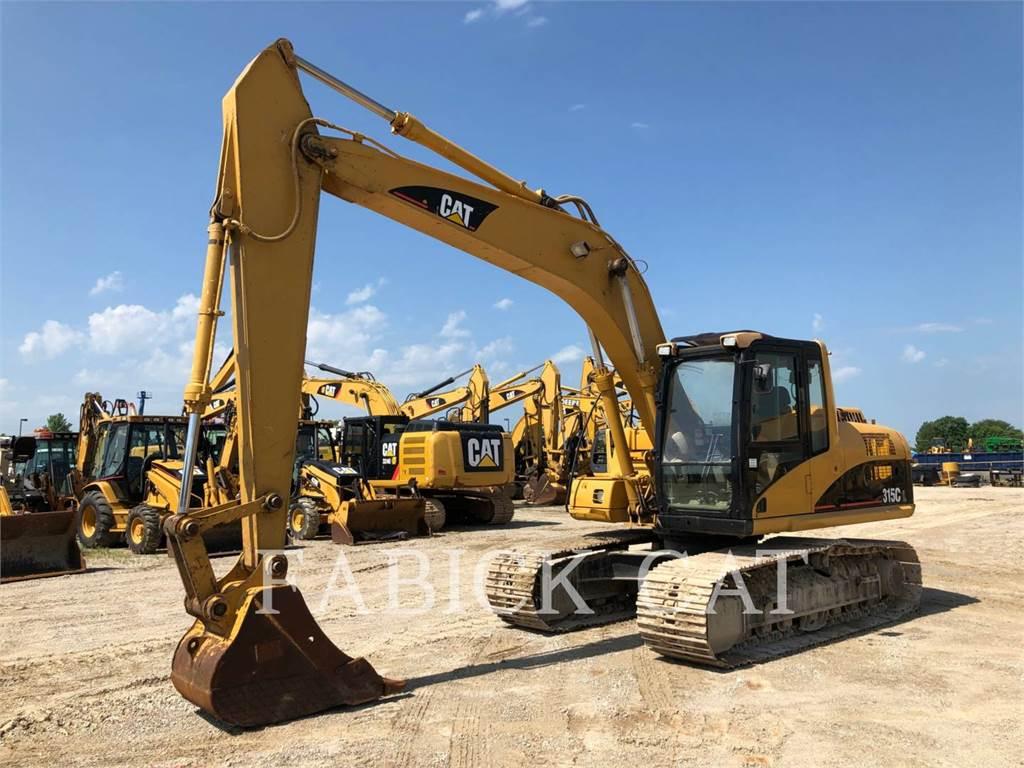 Caterpillar 315CL, Crawler Excavators, Construction