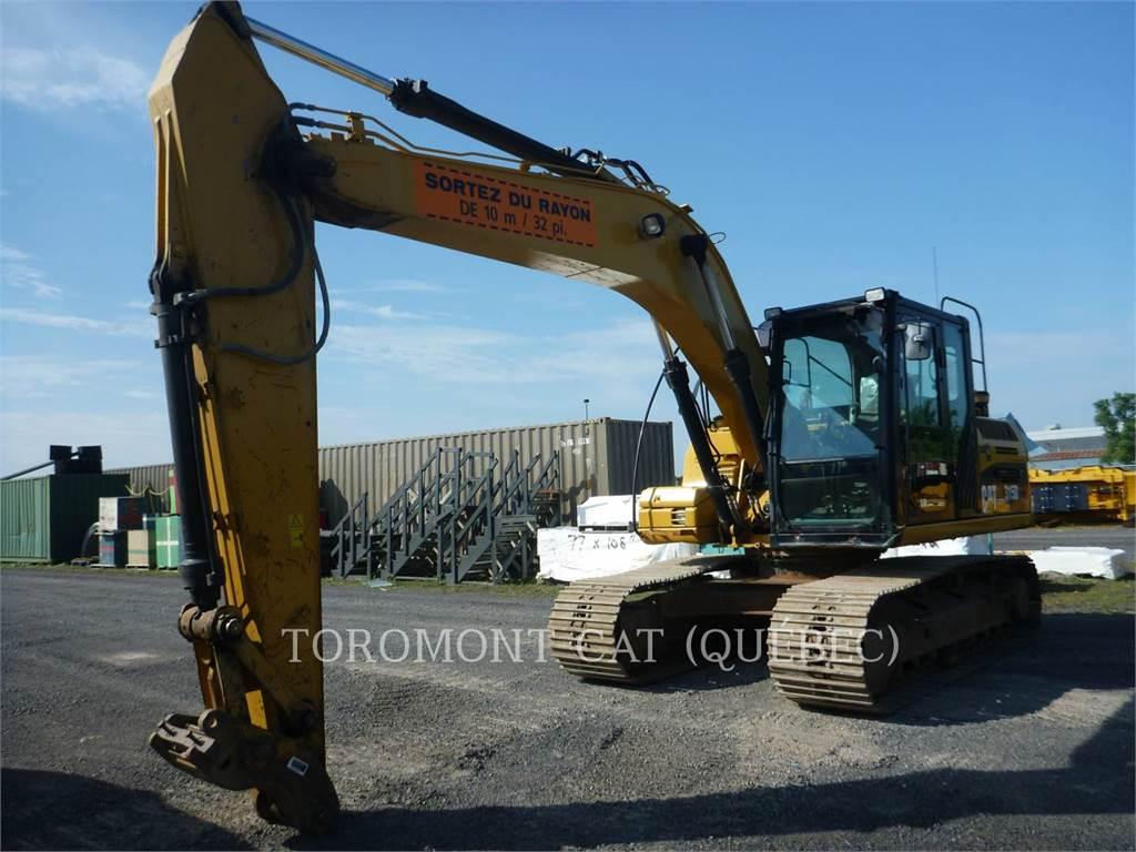 Caterpillar 315DL, Crawler Excavators, Construction