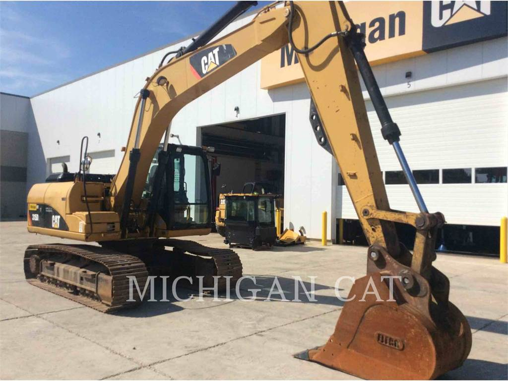 Caterpillar 315DL, Crawler Excavators, Construction