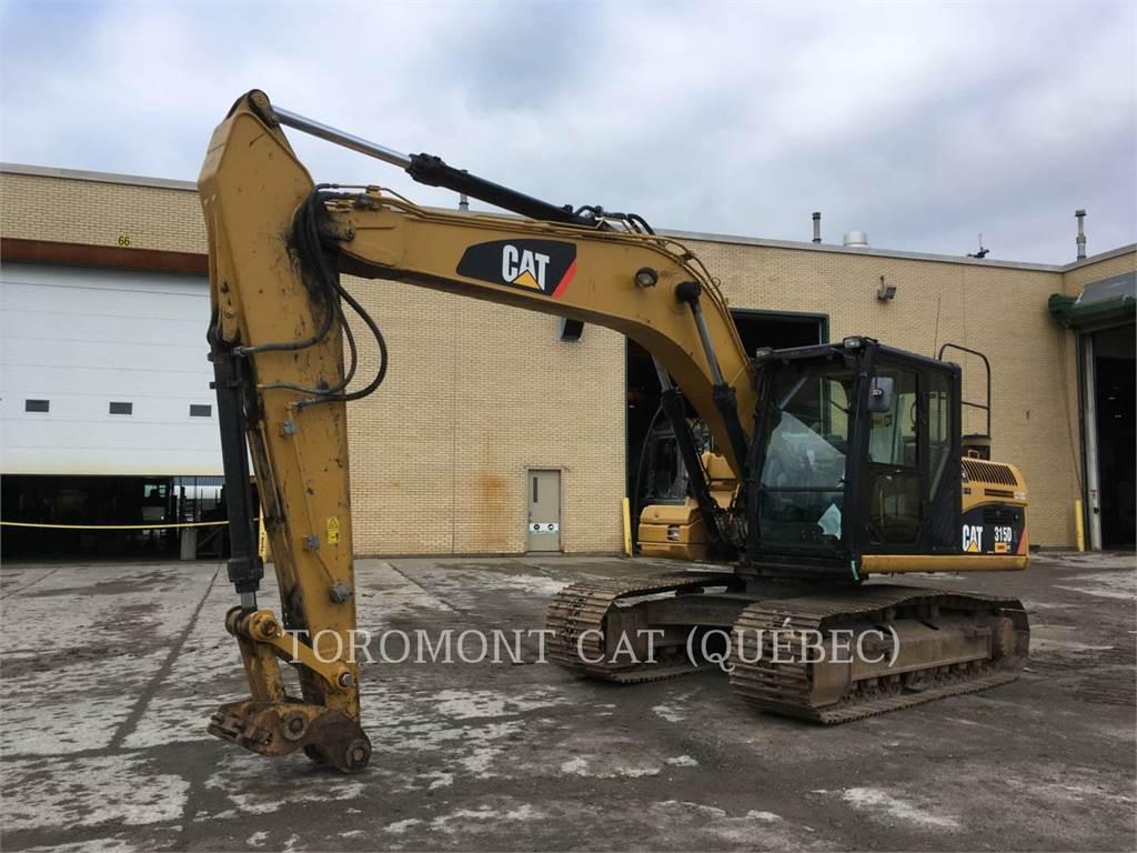 Caterpillar 315DL, Excavadoras de cadenas, Construcción
