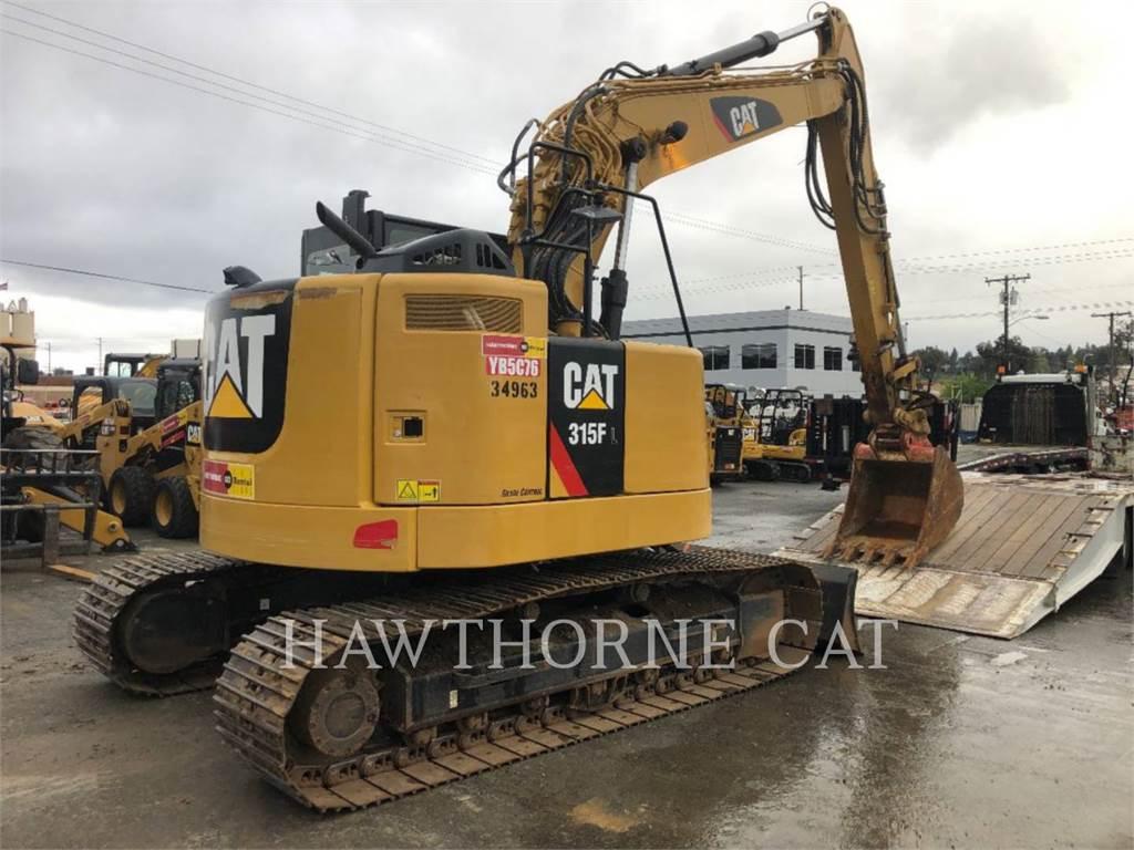Caterpillar 315F, Escavadoras de rastos, Equipamentos Construção