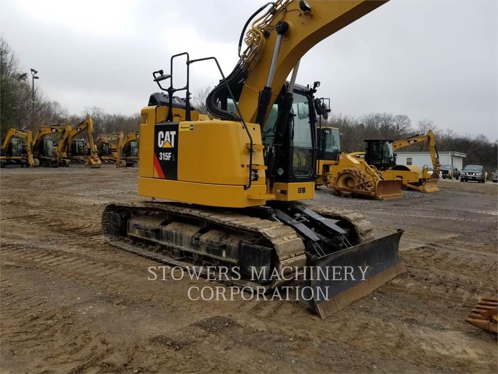 Caterpillar 315F, Crawler Excavators, Construction