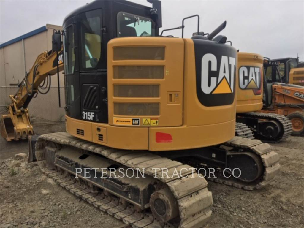 Caterpillar 315F, Crawler Excavators, Construction