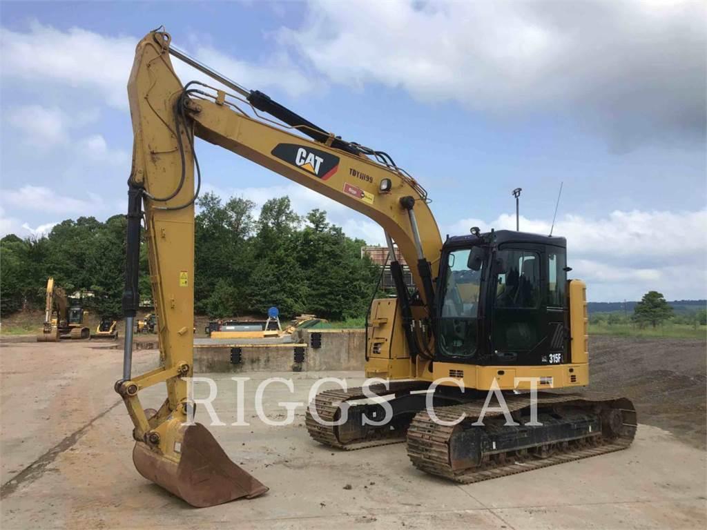 Caterpillar 315F 9, Crawler Excavators, Construction