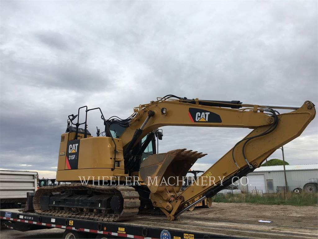 Caterpillar 315F CR, Rupsgraafmachines, Bouw