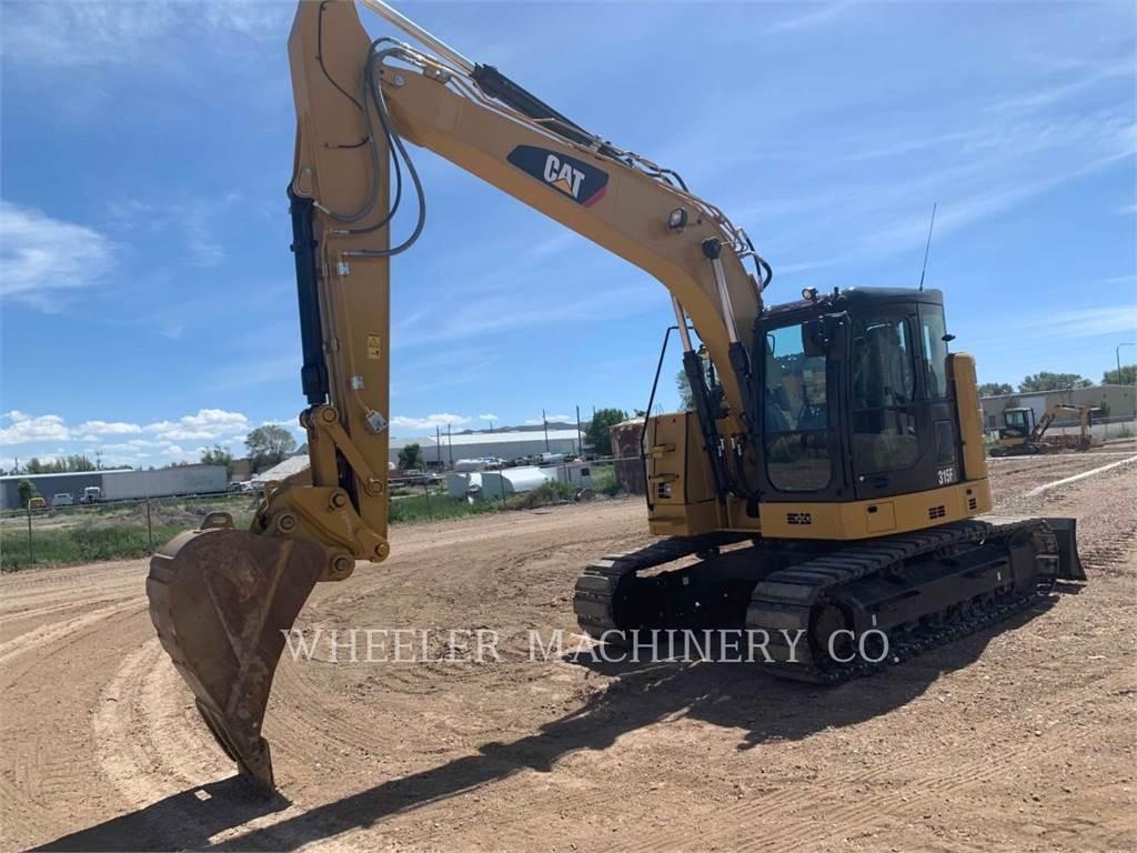 Caterpillar 315F CR CF, Crawler Excavators, Construction