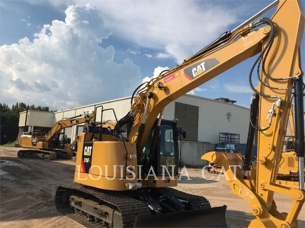 Caterpillar 315FL, Crawler Excavators, Construction