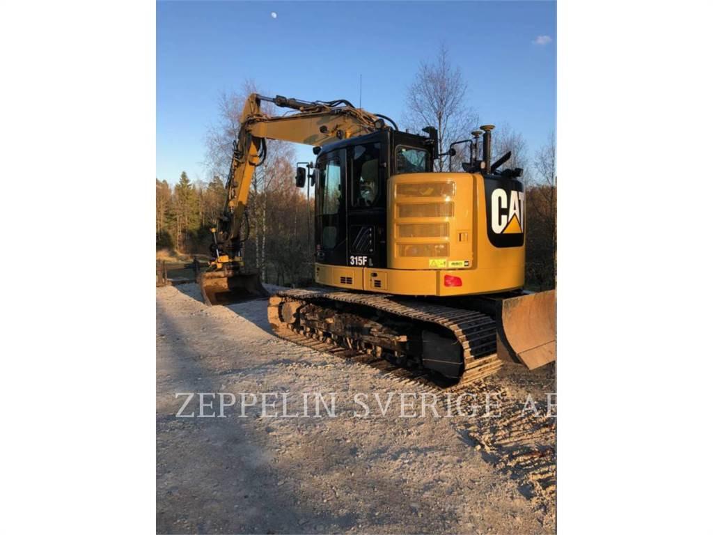 Caterpillar 315FL, Koparki gąsienicowe, Sprzęt budowlany