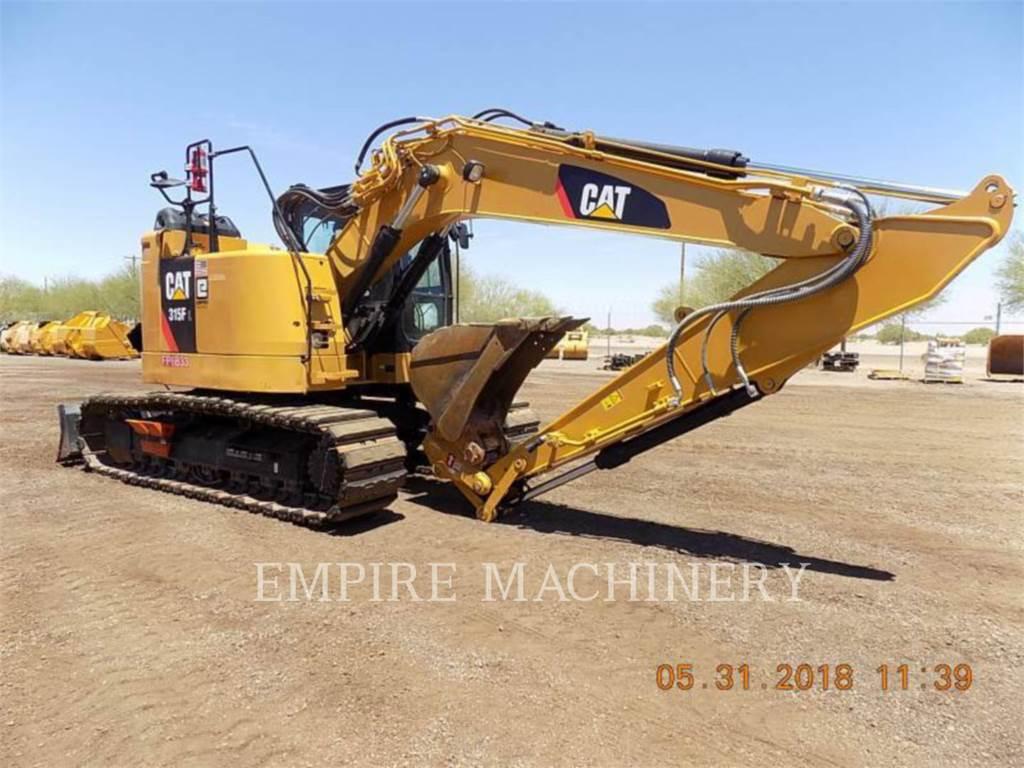 Caterpillar 315FL P, Excavatoare pe senile, Constructii