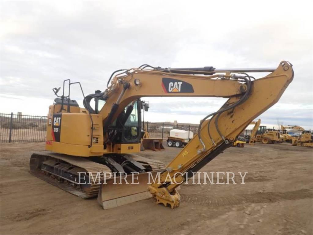 Caterpillar 315FL P, Crawler Excavators, Construction