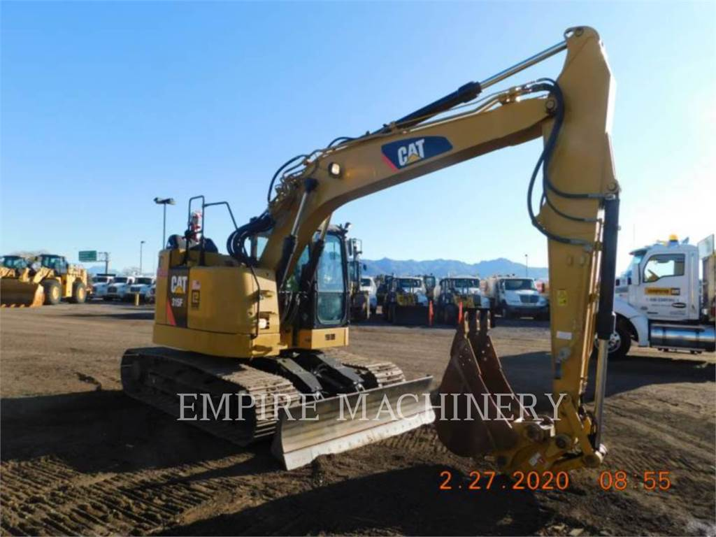 Caterpillar 315FL P, Escavatori cingolati, Attrezzature Da Costruzione