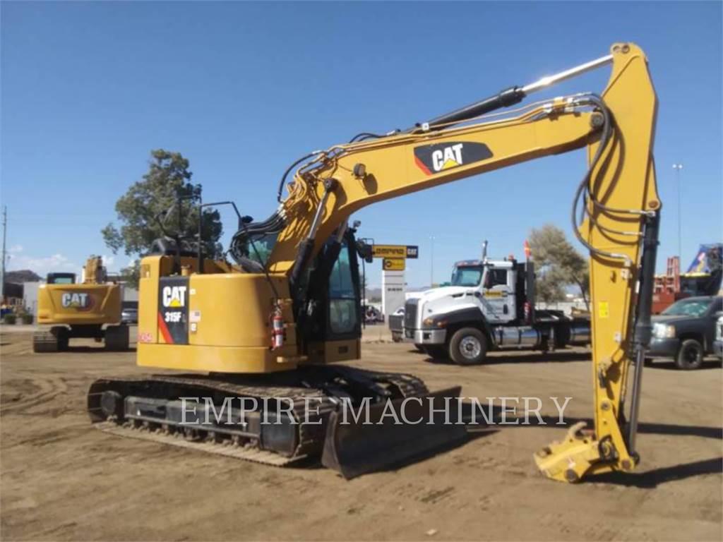 Caterpillar 315FL P、クローラー式油圧ショベル(パワーショベル・ユンボ)、建設