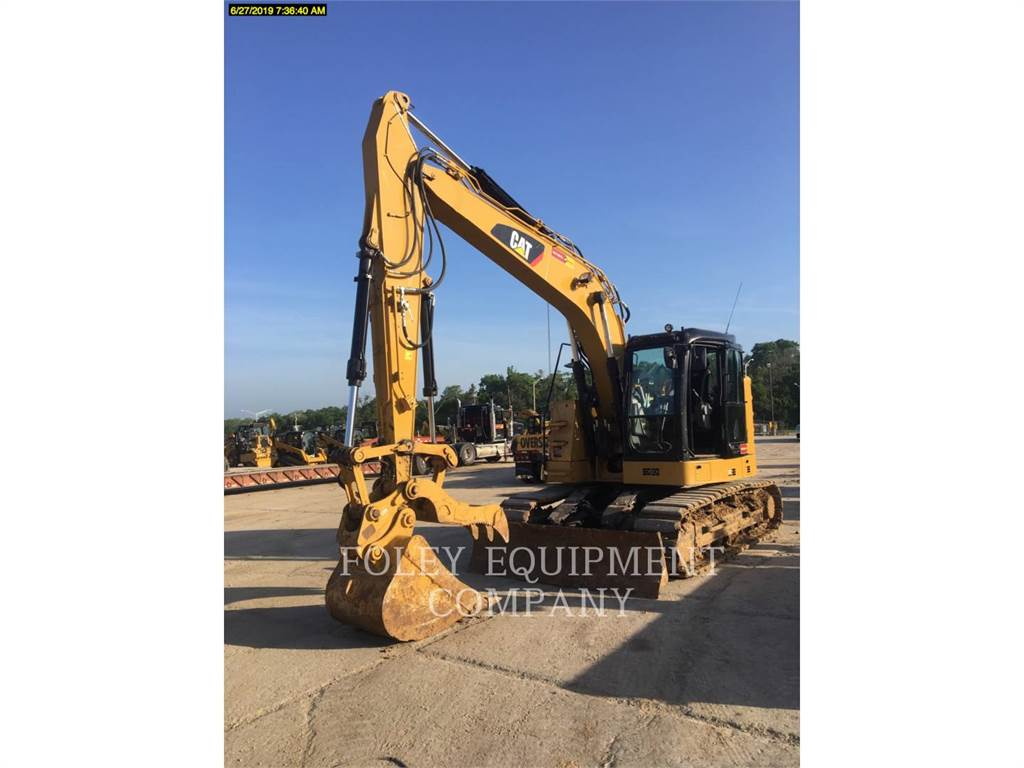 Caterpillar 315FL9, Excavatoare pe senile, Constructii